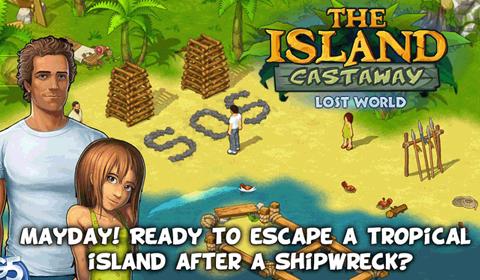 Island Castaway: Lost World